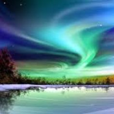I want to see the Northern Lights. This would be an awesome sight to see.