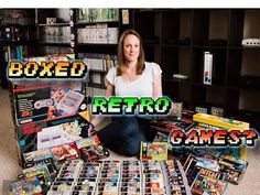 Boxed Retro Games & a GIVEAWAY (TheGebs24)