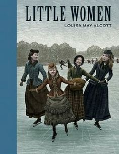 """Little Women is a novel by American author Louisa May Alcott. The novel follows the lives of four sisters – Meg, Jo, Beth, and Amy March – and is loosely based on the author's childhood experiences with her three sisters. G. K. Chesterton noted that in Little Women, Alcott """"anticipated realism by twenty or thirty years."""""""