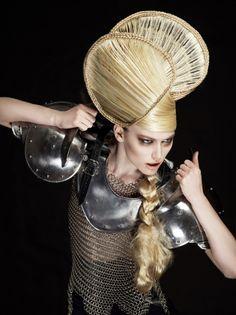 Avant Garde hairstyle