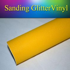 1.52x30m5x98FT Yellow Brilliant Diamond Vinil Matte Flash Sparkle Glitter Wrap Vinyl Film Stickers for Vehicle Wrapping Online with $256.55/Meter on Sallyyang0301's Store   DHgate.com