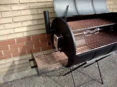 CHARCOAL BARBECUE OIL DRUM SMOKER BBQ - YouTube