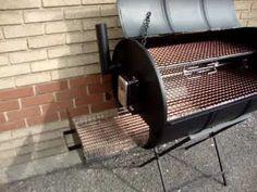Resultado de imagen de half 44 gallon drum as sink Barrel Smoker, Barrel Grill, Oil Barrel, 55 Gallon Drum Smoker, Oil Drum Bbq, Shop Heater, Best Portable Grill, Diy Smoker, Custom Bbq Pits
