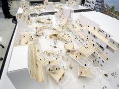 卒業 模型 - Buscar con Google Architecture Collage, Landscape Architecture, Interior Architecture, Arch Model, Social Housing, Layout, Master Plan, Urban Planning, Diy Garden Decor