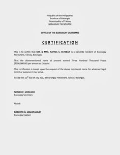 Appointment Letter Sample For Hotel New Format Trainee Resume