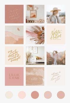 Wild Sage Design is Instagram Feed Ideas Posts, Instagram Feed Layout, Feeds Instagram, Instagram Grid, Instagram Design, Web Minimalista, Mise En Page Portfolio, Deco Rose, Graphisches Design