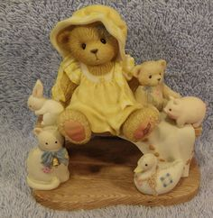 Lucille #786543  Prototype Cherished Teddies