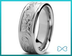 Titanium Wedding BandMens Wedding BandBeveled by InfiniteBands