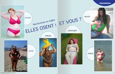 Our French readers joined the #Fatkini revolution and sent us their pictures! Aren't they great? (And have you noticed Velvet d'Amour presence? ;) )