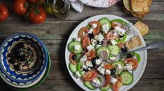 Salade grecque comme à Rhodes