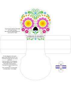 DIA DE LOS MUERTOS/DAY OF THE DEAD~Don't Eat the Paste: Día de los Muertos Sugar Skull Boxes