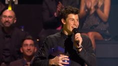 Shawn Mendes at the EMAs 2016 Rotterdam Winner of the best male Artist