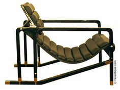 Transat Chair  designed by Eileen Gray in the 20's