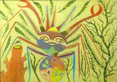 Francisco da Silva (Chico da Silva) Sem título, s.d. Guache sobre Papel 77 x 105 cm Art And Illustration, Outsider Art Fair, Guache, Princess Zelda, Canvas, Fictional Characters, York, Art Production, Paper