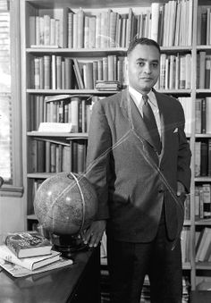 December 10,1950: Ralph J. Bunche became the first African American to receive the Nobel Peace Prize.