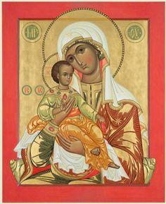 Our Lady of Hodegetria by Yuri Federov