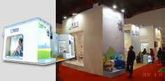 booth fabrication/exhibition service/stand builder
