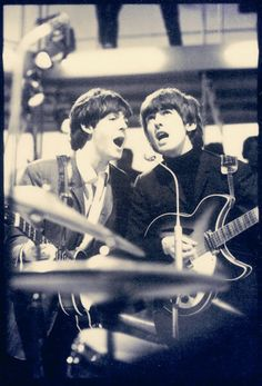 for you stacie!!!      Paul McCartney and George Harrison