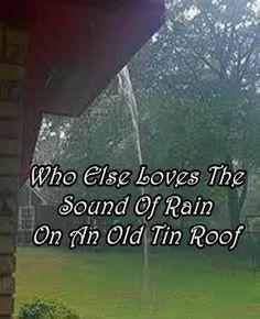 I love rain!