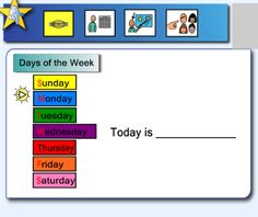 """Interactive circle time. I like the """"today we will have..."""" and rules page"""
