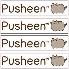 picture relating to Pusheen Printable identified as 275 Perfect Pusheen The Cat Printables pictures within 2017 Pusheen