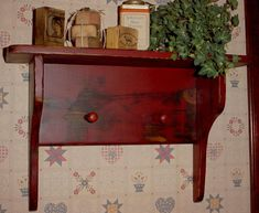 colonial shaker | Primitive Wood Colonial & Grungy Antique - SHAKER PEG SHELF ...
