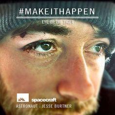 Eye of the Tiger. @think_thank @jesseburtner #makeithappen #bloodymess #blackeye #noblood #noglory #bloodsweatandtears