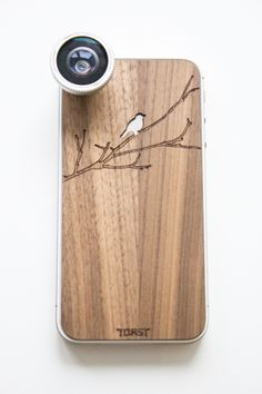 iphone case and lens