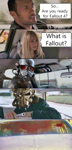 When youre obsessed about Fallout but your friend hasnt even heard about it  fallout fallout 4 twitter