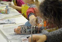 Die Keramik-Kurse im Kunstmuseum gibt es sowohl für Kinder als auch für Jugendliche und Erwachsene.