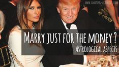 Marry for the money – gold digger aspects!