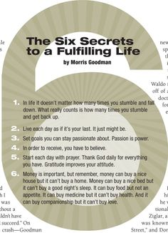 From Success Magazine