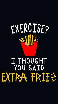 Beautiful Extra McDonaldu0027s Fries!? Sure · Funny Phone WallpaperFunny ...