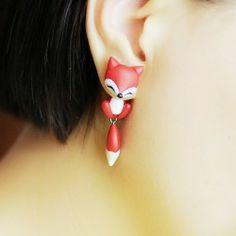 New Lovely&Sweet Fox Handmade Earrings, Various Styles