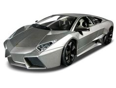 The Burago Lamborghini Reventon, is a diecast model car kit from this fantastic manufacturer in 1/18th scale. Build them, display them, collect them. Bburago's range of 1/18 scale die cast kits give you the chance to build your own super car or even a classic car. With a fully painted die cast metal body and coloured plastic detailing parts these kits will make up into a model you will want to display.