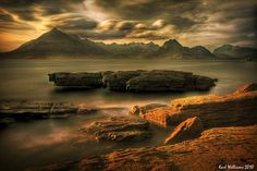 View of the Cuillin Hills from Elgol by Karl Williams