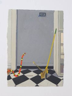 Pizza, Snake, Arrow, Broom Stick, Refrigerator Left Open, Switzerland, Justin Webb