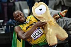 Wenlock does the Bolt