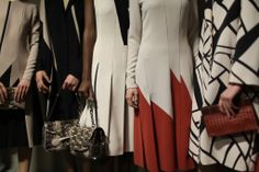 Backstage at Bottega Veneta RTW Fall 2014