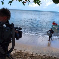 Up early and ready to film a local fisherman bringing his catch of the day to shore.  #tourism #destinationmarketing