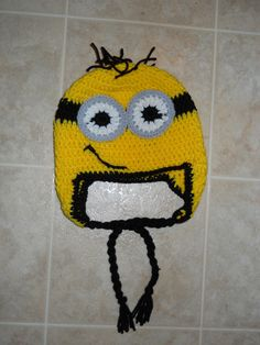 Despicable Me Inspired Hat-Child PATTERN. $3.50, via Etsy.