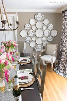 awesome Salle à manger - Our Spring Dining Room - Driven by Decor Grey Beige Paint, Beige Paint Colors, Paint Colors For Home, Neutral Paint, Gray Walls, Wall Colors, Gray Color, Dining Room Walls, Living Room Decor