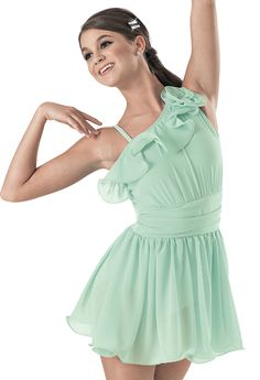 Weissman™ | Asymmetical Ruffle Dress