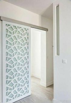 31 modern home decor trending this winter 21 – yorideas Sliding Door Design, Sliding Doors, Room Divider Doors, House Siding, Interior Barn Doors, Home Decor Trends, Home Interior Design, House Design, Door Replacement