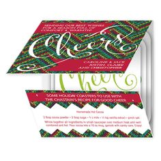A Tasty Treat eInvite Holiday Cards Whimsical