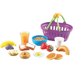 Learning Resources New Sprouts Play Food Basket - Walmart.com
