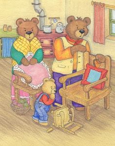 Looking for children's Fairytale Illustrators? Internationally published children's illustrator Debora Burr can produce illustrations in Traditional and Digital format Goldilocks And The Three Bears, Wooden Puzzles, Childrens Books, Illustrators, Fairy Tales, Teddy Bear, Education, Comics, Writing Process