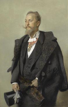 Gottlieb Theodor Kempf von Hartenkampf, Otto Wagner, Pastell, 1896 ©Wien Museum