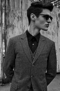 Stark Magazine - ONLY THE LONELY | Winter 2015 | Model: Ben Lark