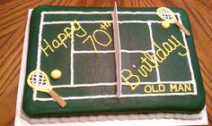 Tennis Court Cake - by Clarissa Dawn Creations - 11/12